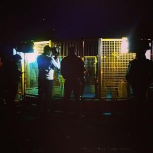 Proud: Infamous cage scene