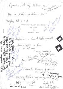 1st Draft: The abundance of feedback